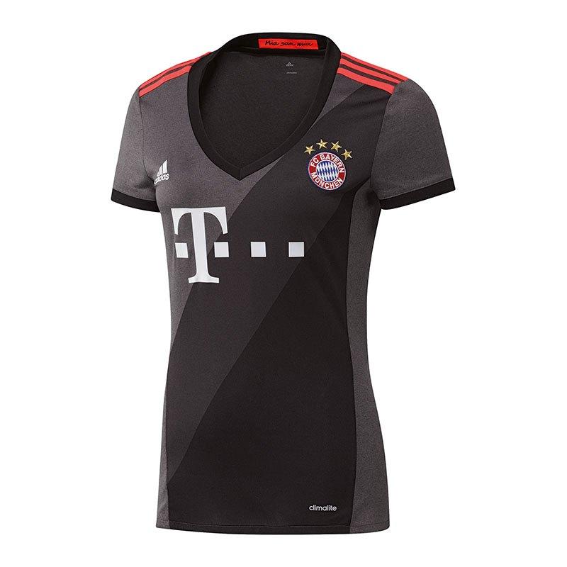 adidas FC Bayern München Trikot Away Damen 2016/17 - grau
