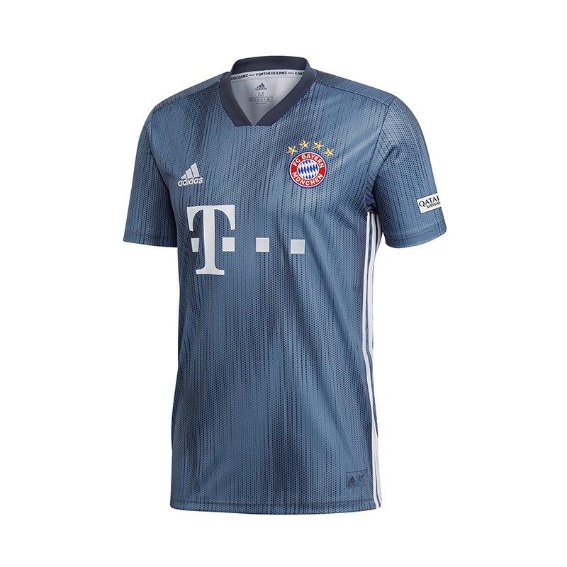 adidas FC Bayern München Trikot UCL 2018/2019 Grau - grau