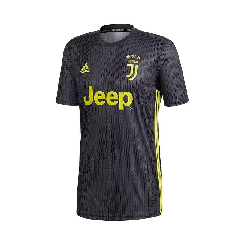 adidas FC Juventus Turin Trikot UCL 2018/2019 Grau - grau