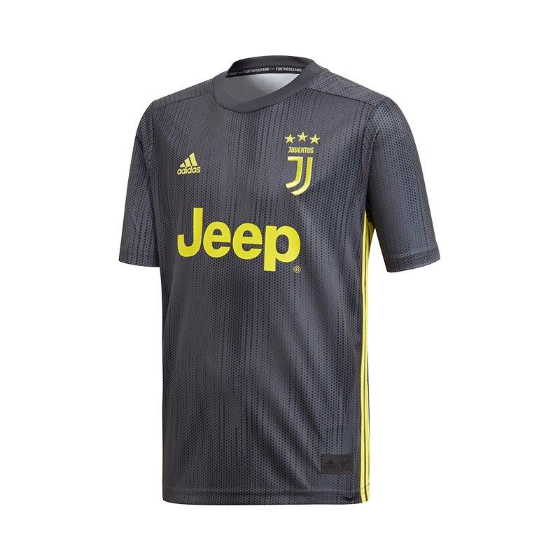 adidas FC Juventus Turin Trikot UCL Kids 2018/2019 Grau - grau