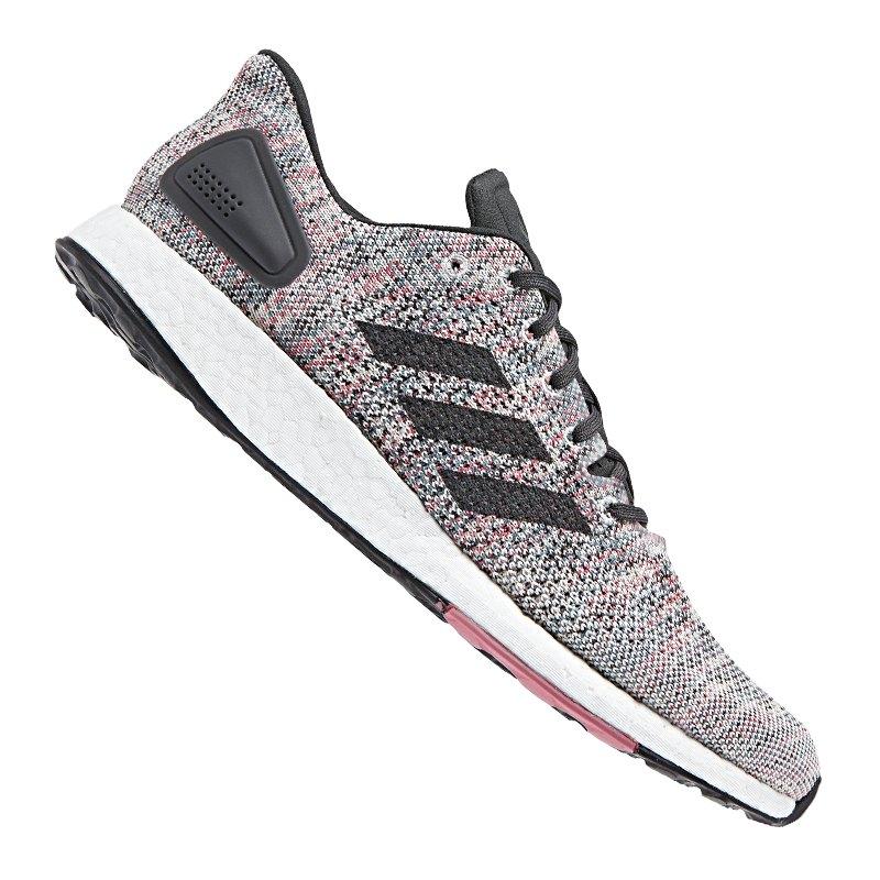 adidas Pure Boost DPR Running Grau Schwarz - grau