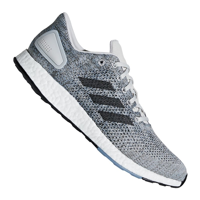 adidas Pure Boost DPR Running Grau Weiss - grau