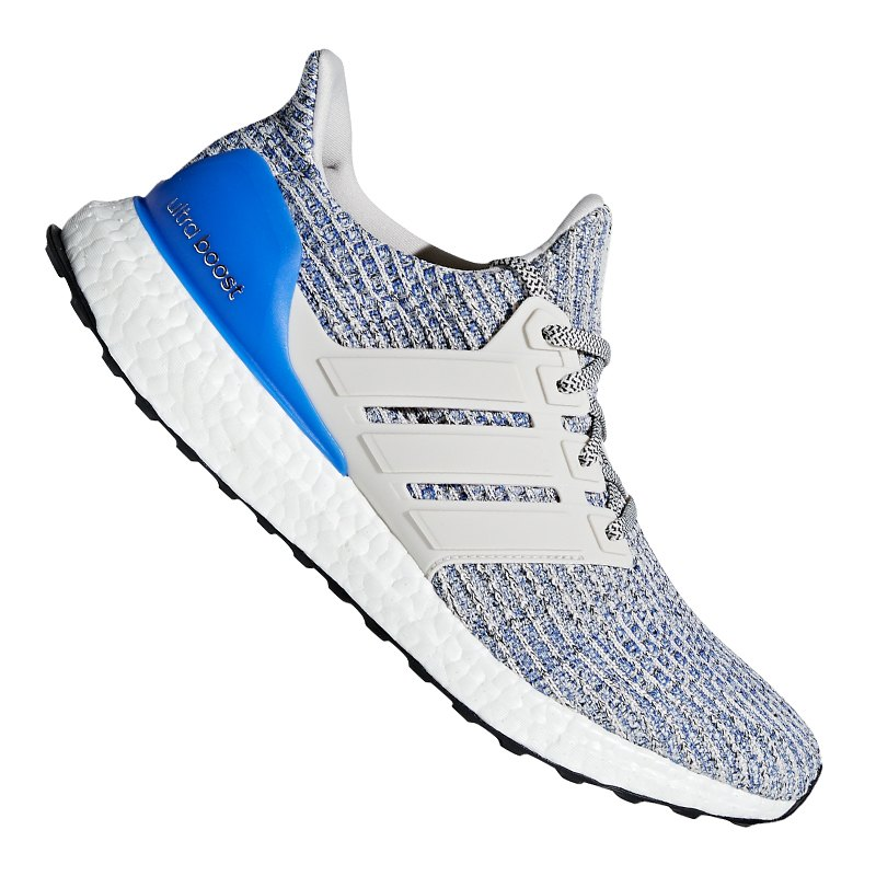 adidas ultra boost running grau blau herrenschuh. Black Bedroom Furniture Sets. Home Design Ideas