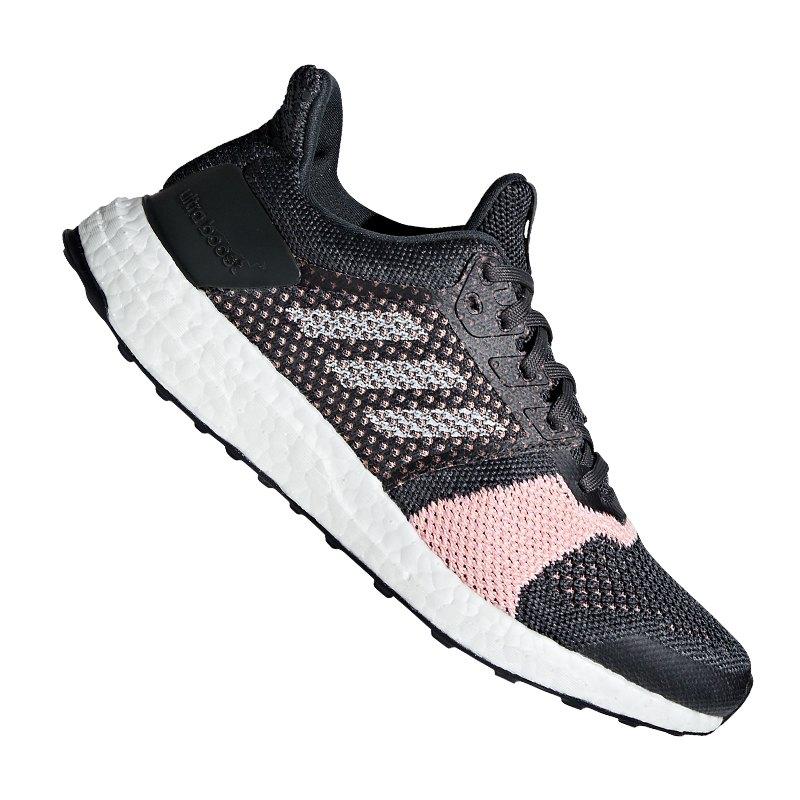 adidas Ultra Boost ST Running Damen Grau Rosa - grau