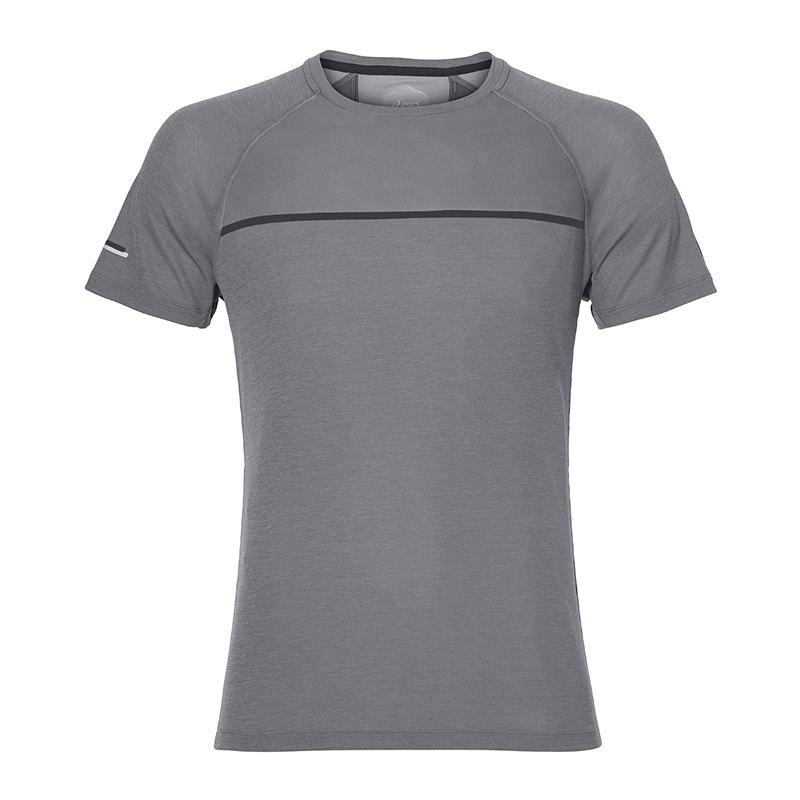 Asics Top T-Shirt Running Grau F0773 - grau