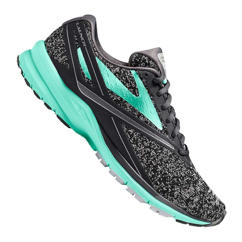 Brooks Launch 4 Running Damen Grau Türkis F048 - grau