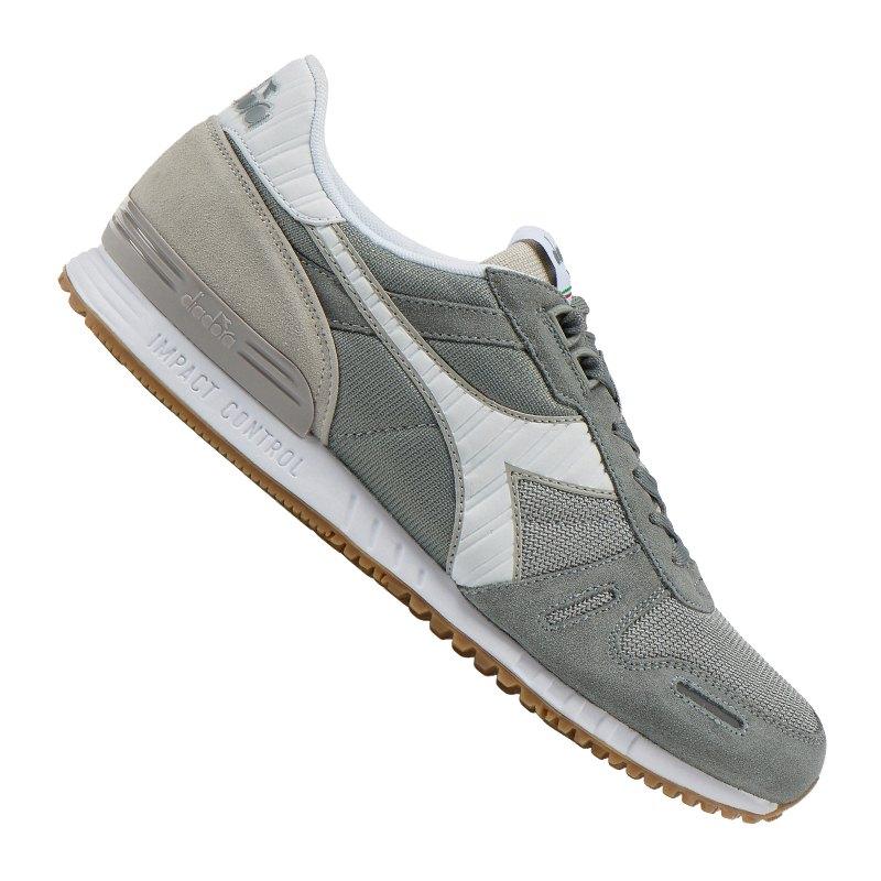 Diadora Titan II Sneaker Grau Weiss C4482 - grau