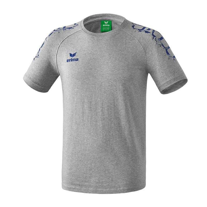 Erima 5-Cubes Graffic T-Shirt Basic Kids Grau - grau
