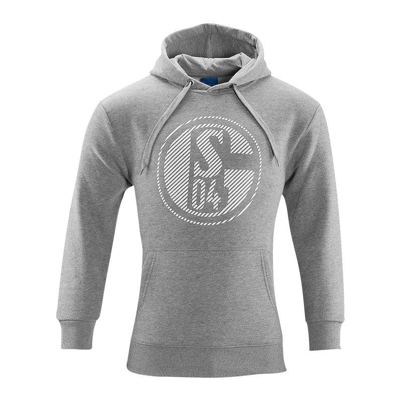 FC Schalke 04 Kapuzensweatshirt Classic Grau - grau