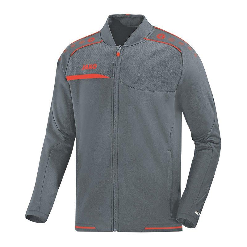 Jako Prestige Clubjacke Trainingsjacke Grau F40 - grau