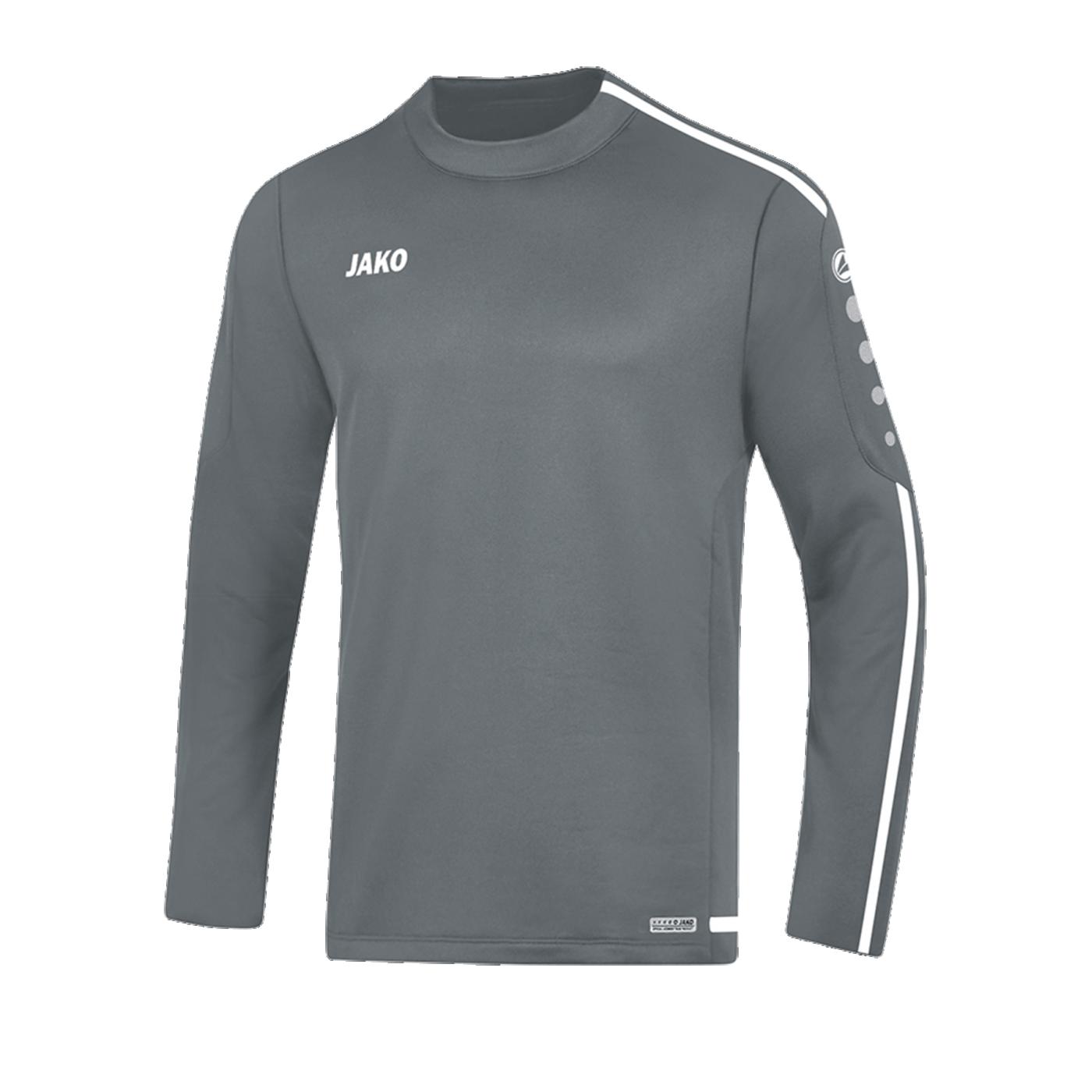 Jako Striker 2.0 Sweatshirt Grau Weiss F40 - Grau