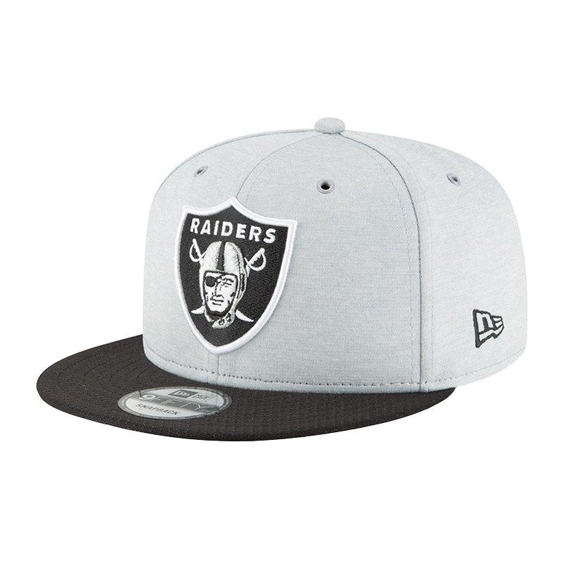 New Era Oakland Raiders NFL 9Fifty Snapback - grau