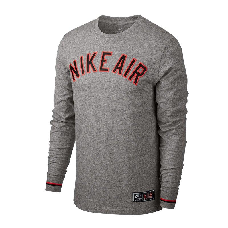 115a480e5178 Nike Air 1 Sweatshirt Grau F063   Freizeitkleidung   Lifestyle ...