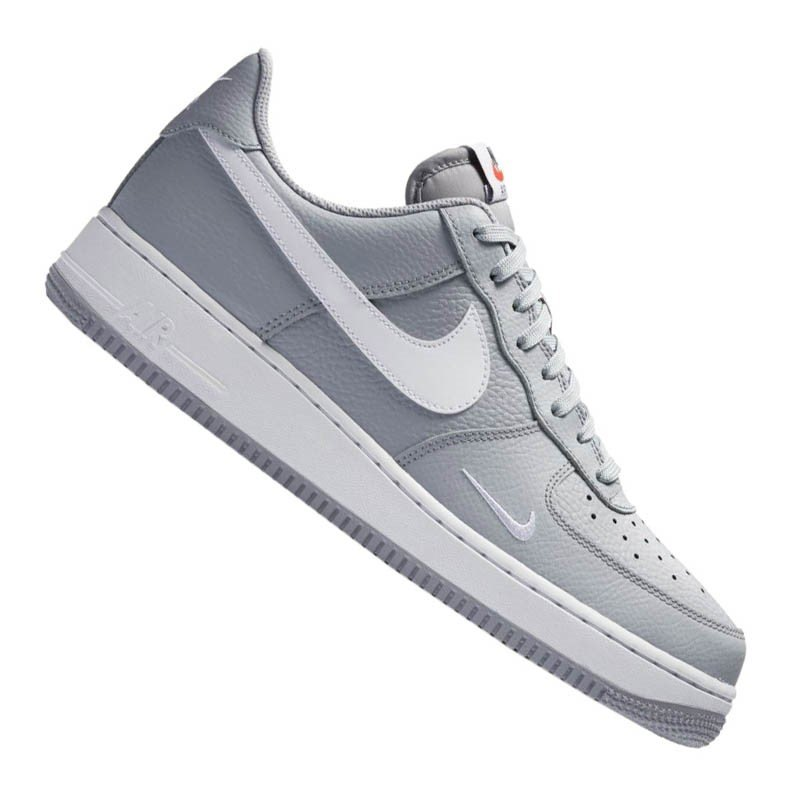 nike sneaker grau weiss f018 air force 1 style fashion. Black Bedroom Furniture Sets. Home Design Ideas