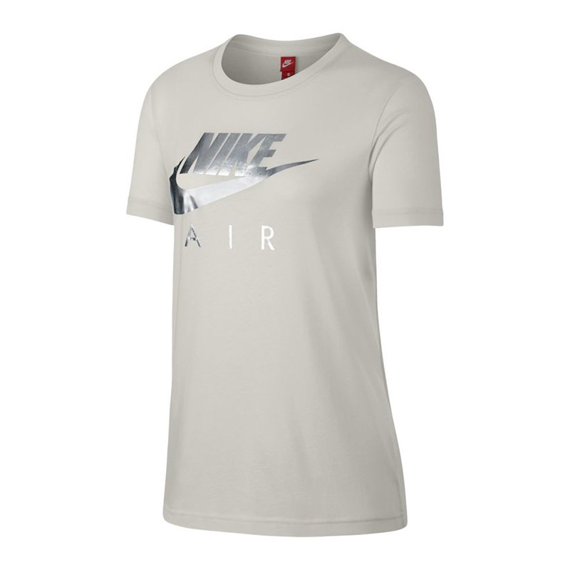 nike air tee t shirt damen grau f072 trend style t. Black Bedroom Furniture Sets. Home Design Ideas