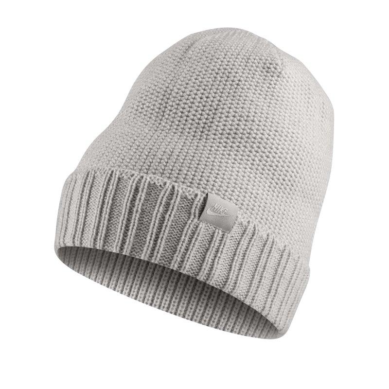 Nike Beanie Mütze Grau F050 - grau