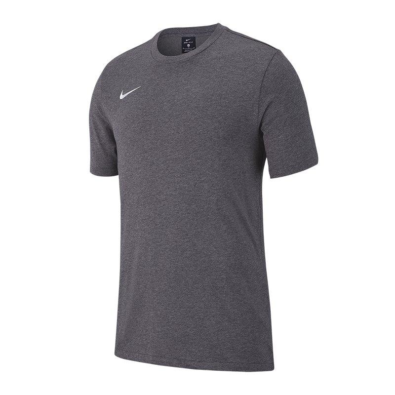 Nike Club 19 T-Shirt Kids Grau F071 - grau