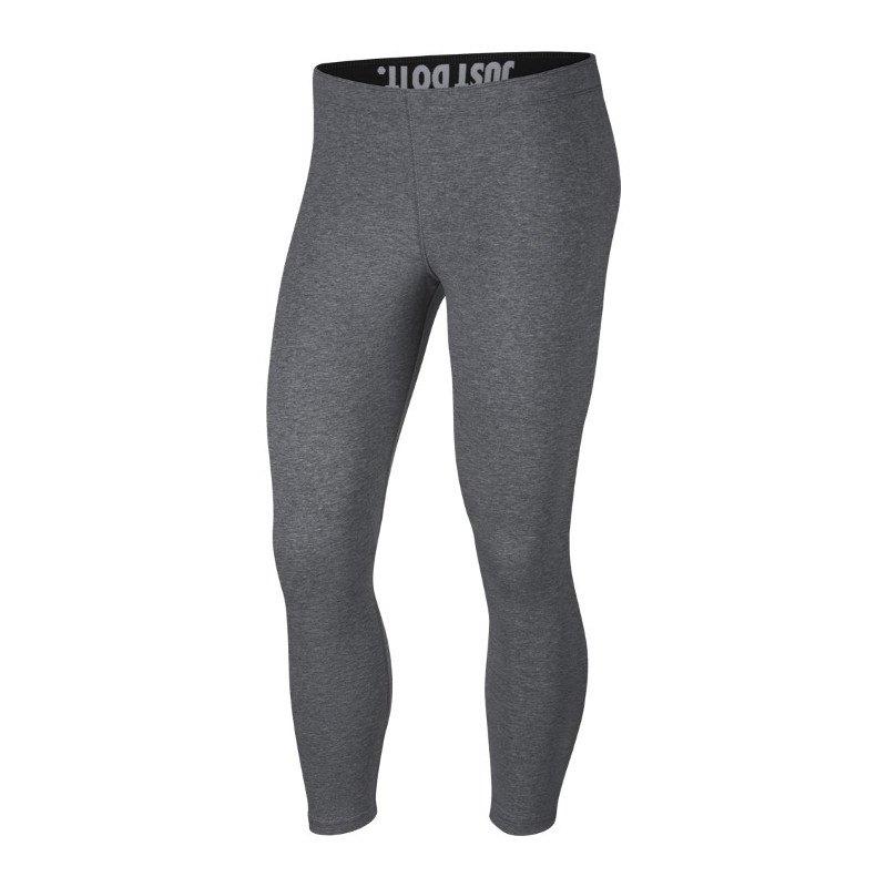 Nike Crop Leg-A-See Leggings Damen Grau F091 - grau