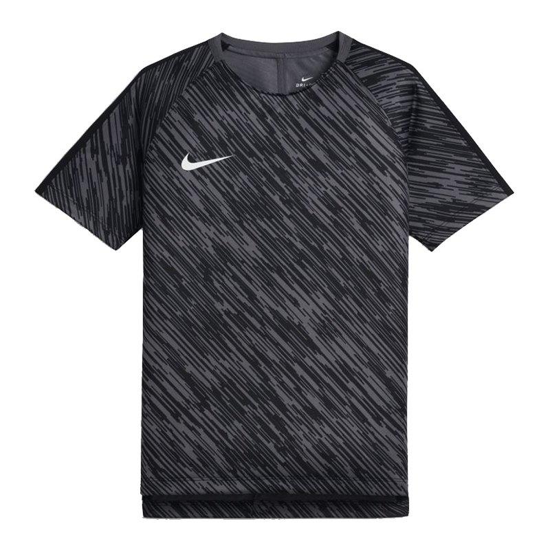 Nike Dry Squad Football Top T-Shirt Kids Grau F021 - grau