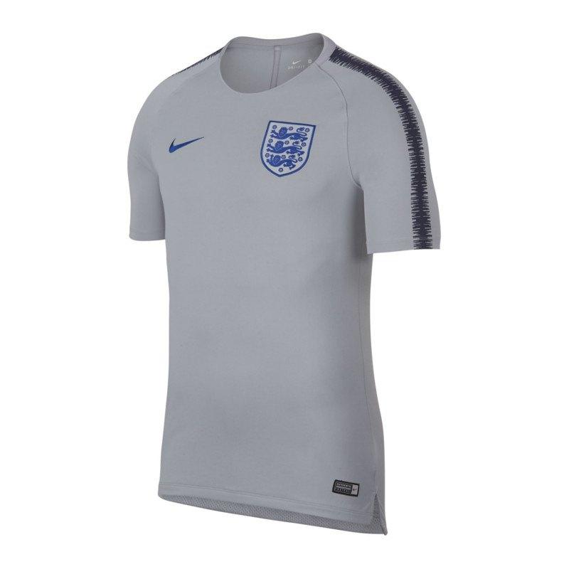 Nike England Breathe Squad T-Shirt Grau F015 - grau
