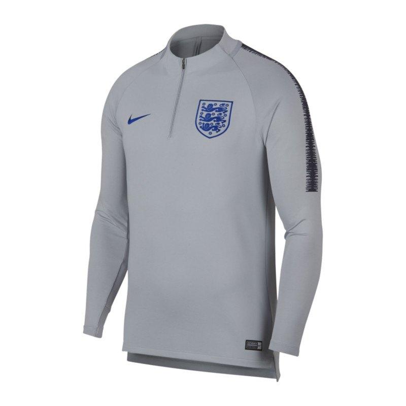 Nike England Dry Squad Drill Top Grau F015 - grau