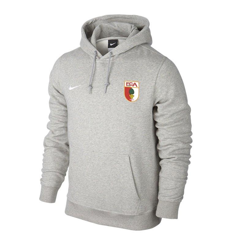 Nike FC Augsburg Kapuzensweatshirt Kids Grau F050 - grau