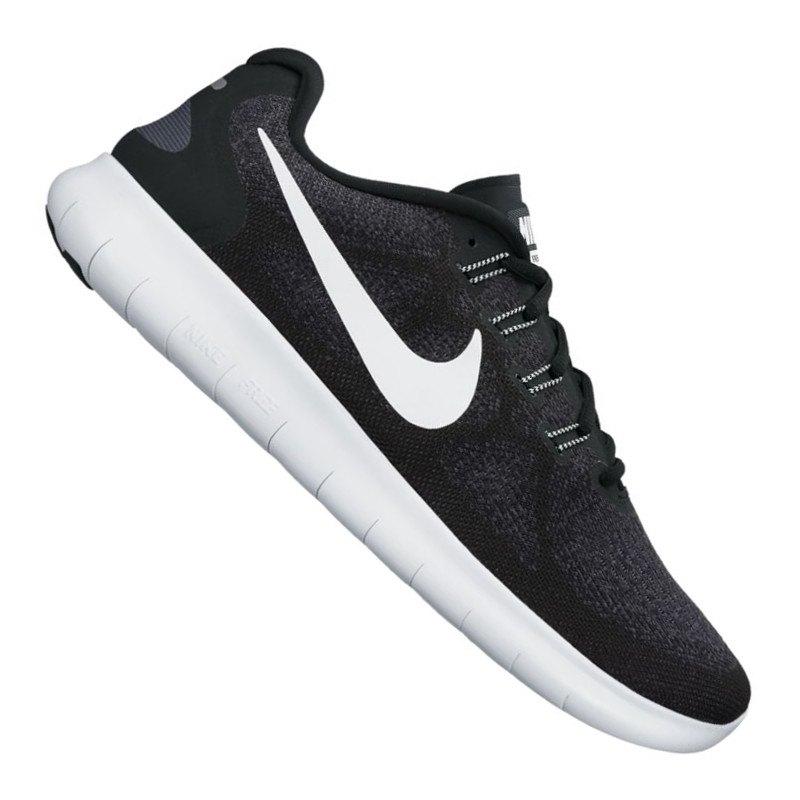 Nike Free RN 2017 Running Grau Schwarz F001 - grau