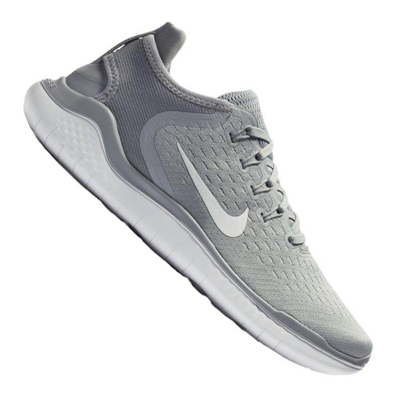 Nike Free RN 2018 Running Damen Grau Weiss F003 - grau