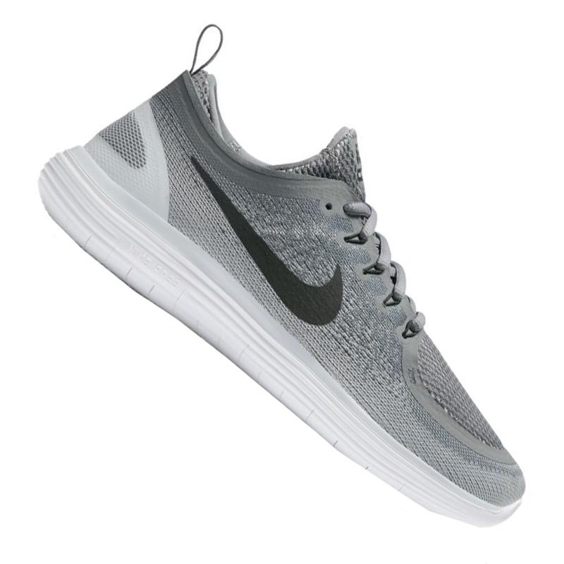Nike Free RN Distance 2 Running Grau Weiss F002 - grau