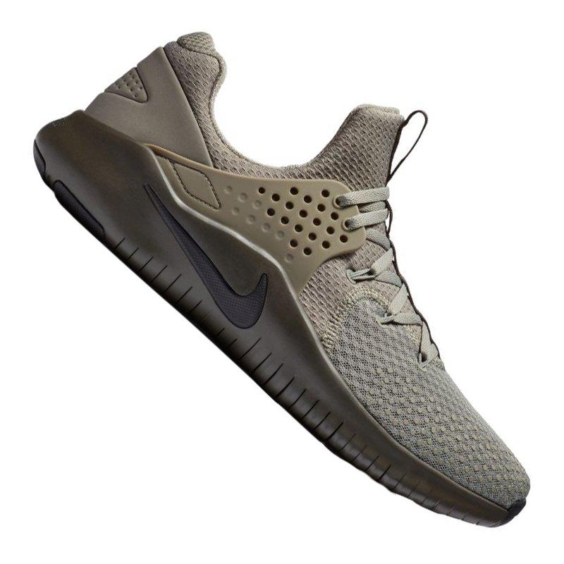 Nike Free TR V8 Training Grau Braun F005 - grau