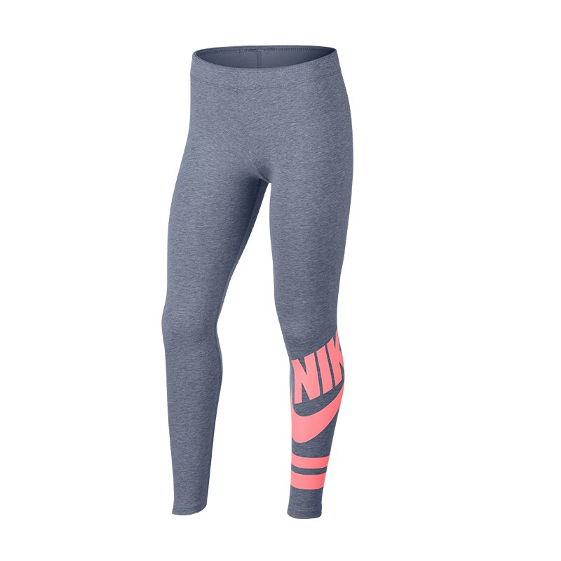 Nike Graphic Leggings Kids F447 - grau