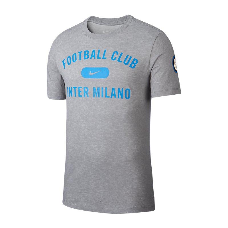 Nike Inter Mailand Dry T-Shirt Grau F002 - grau