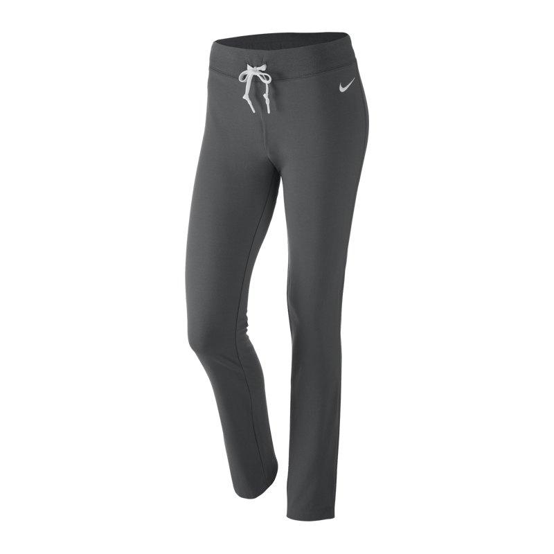 Nike Jersey Pant-OH Hose Damen Grau F071 - grau ... f9460756ad