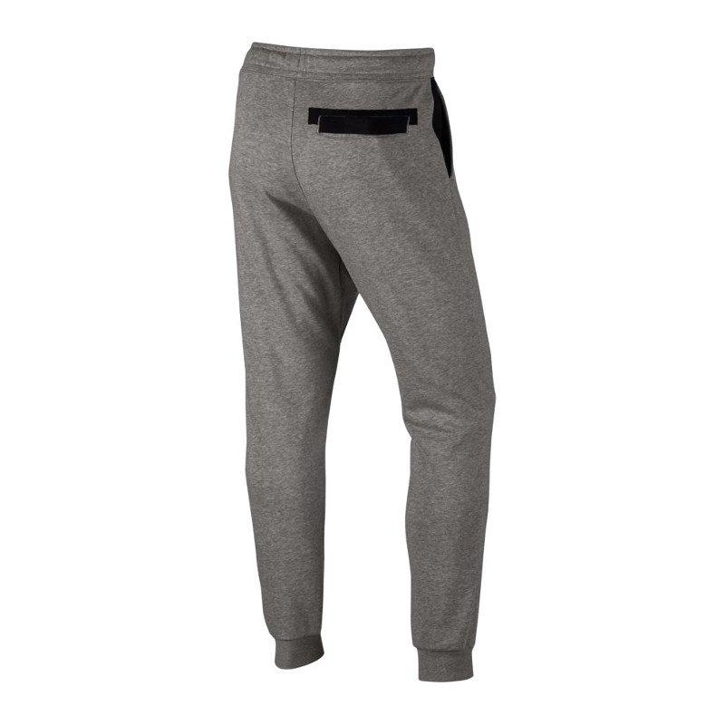 nike jogger hose lang jogginghose grau f063 grau. Black Bedroom Furniture Sets. Home Design Ideas