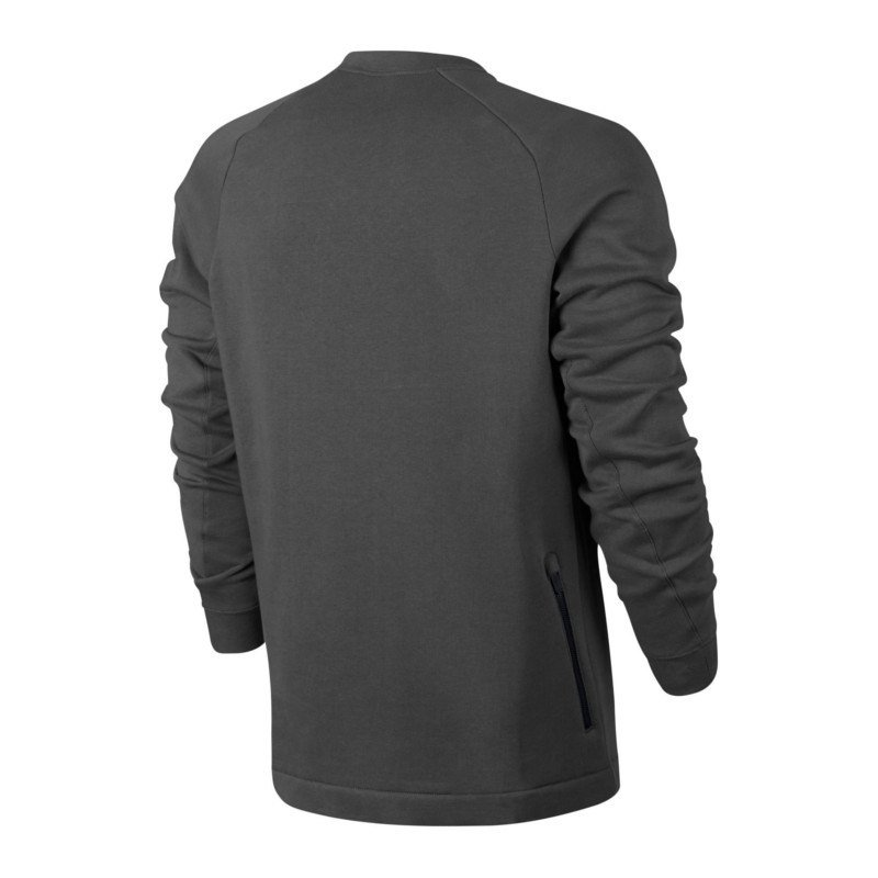 nike modern crew sweatshirt grau f038 pullover. Black Bedroom Furniture Sets. Home Design Ideas