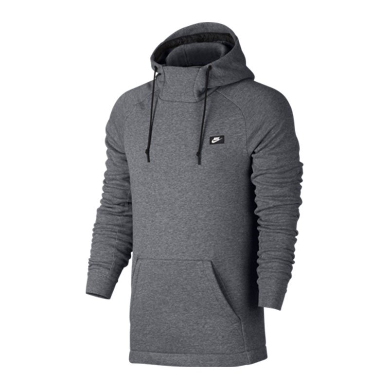 nike modern hoody kapuzensweatshirt grau f091 kapuzensweatshirt hoody modisch herren. Black Bedroom Furniture Sets. Home Design Ideas