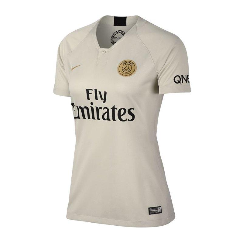 Nike Paris St. Germain Trikot Away Damen 2018/2019 F073 - grau