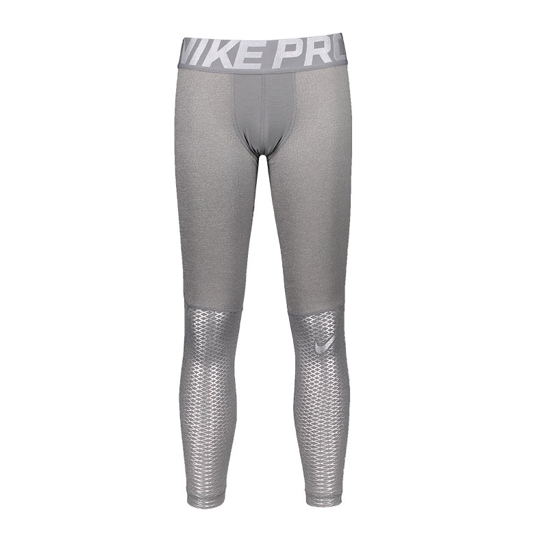 Nike Pro Hypercool Max Tight Kids Grau F091 - grau