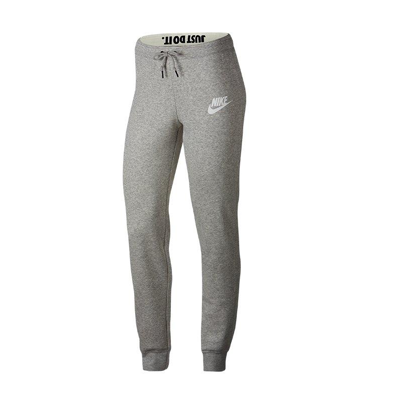 Nike Rally Pant Jogginghose Damen Grau F050 - Grau
