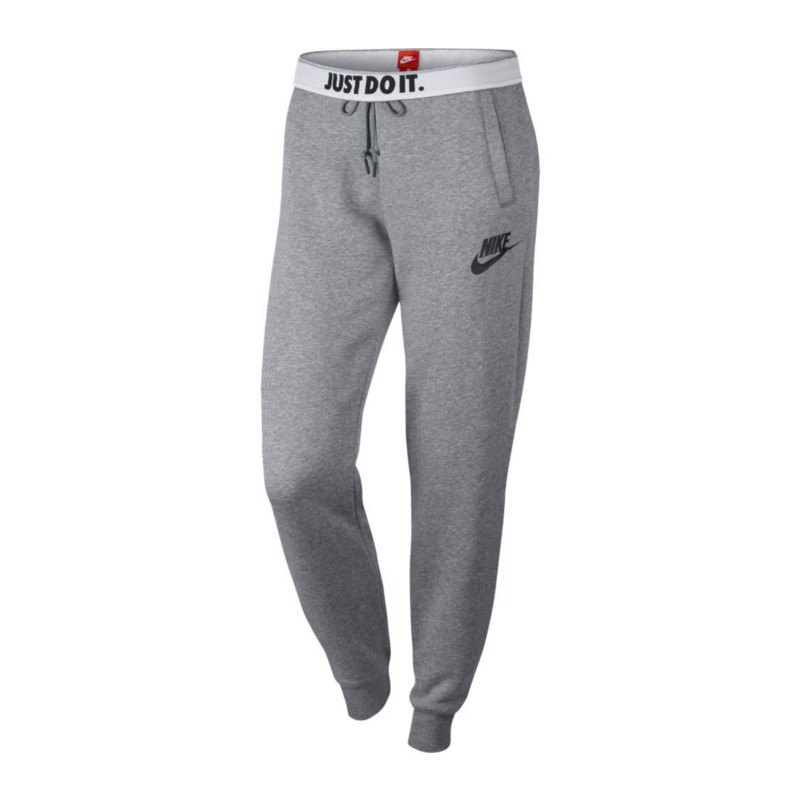 nike rally pant jogginghose damen grau f091 lifestyle streetwear alltag kult freizeit. Black Bedroom Furniture Sets. Home Design Ideas