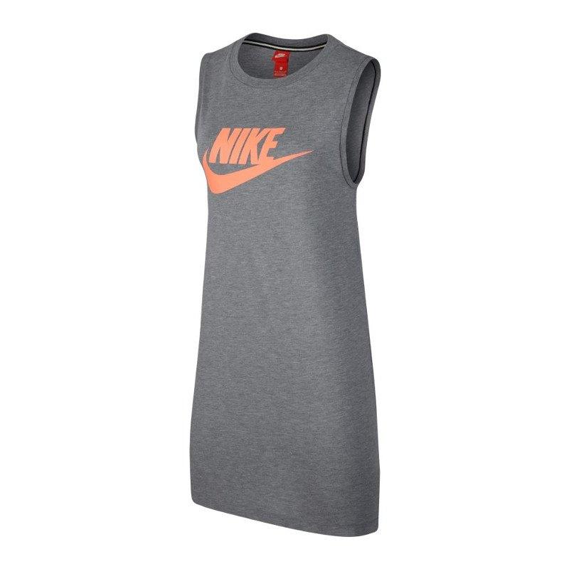 Nike Tank Dress Tanktop Damen Grau F093 - grau