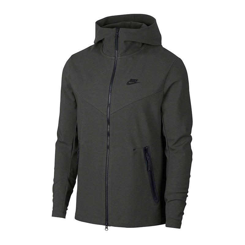 Nike Tech Pack Full Zip Hoody Kapuzenjacke F001 - grau