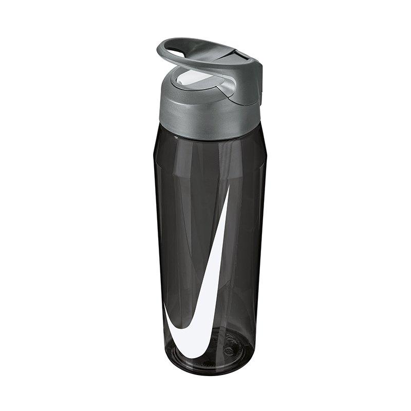 Nike TR Hypercharge Straw Bottle 709ml Grau F032 - grau