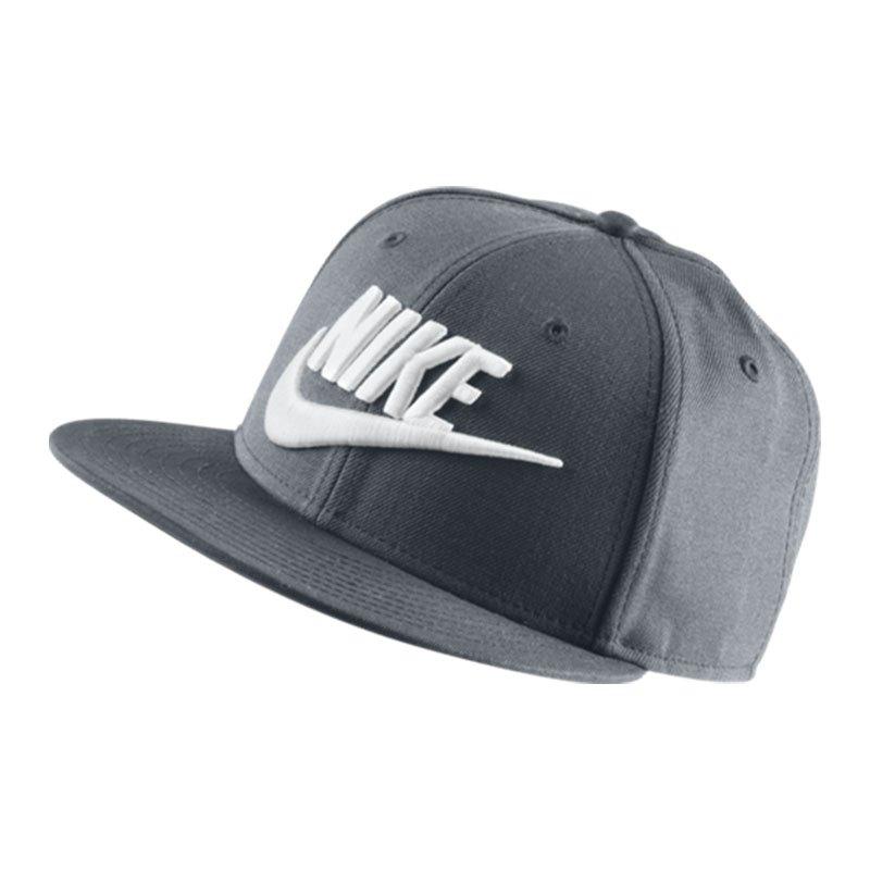 Nike True Graphic Futura Cap Grau Weiss F067 - grau