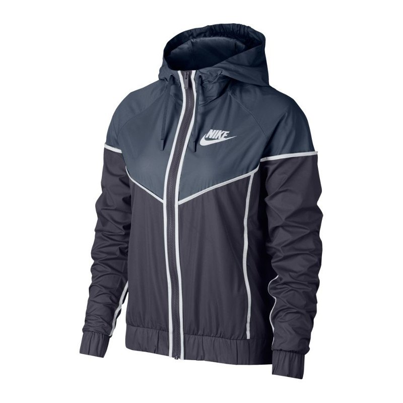 jacke damen nike windrunner jacket grau f013 stylejacke. Black Bedroom Furniture Sets. Home Design Ideas