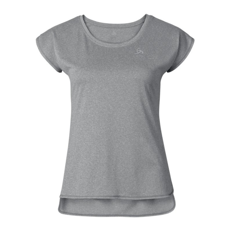 Odlo Tebe T-Shirt Running Damen Grau F10420 - grau