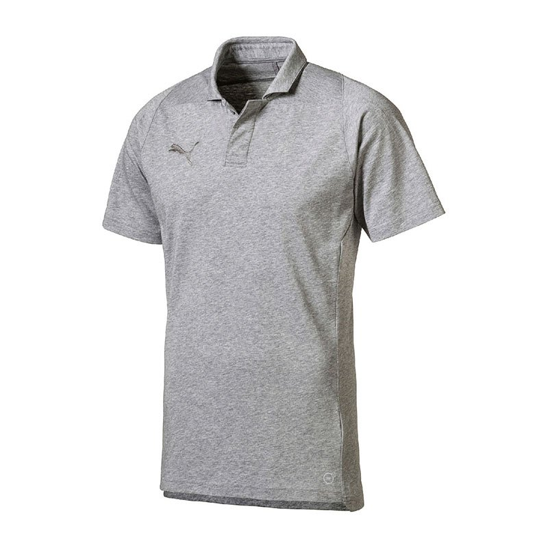 PUMA FINAL Casuals Polo Grau F37 - grau