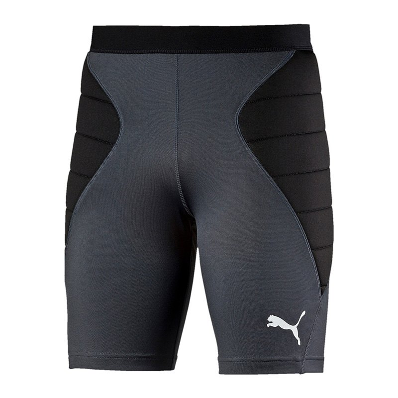 PUMA GK Tight Padded Shorts Torwarthose Grau F60 - grau