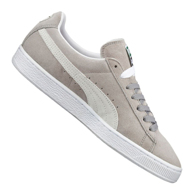 puma suede classic sneaker grau weiss f66 grau. Black Bedroom Furniture Sets. Home Design Ideas