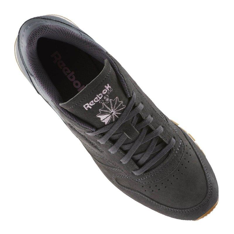 reebok classic leather eb sneaker damen grau lifestyle schuh freizeit shoe freizeitschuh. Black Bedroom Furniture Sets. Home Design Ideas